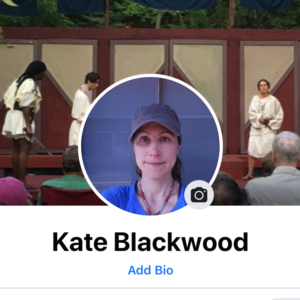 Screen shot of my Facebook profile picture